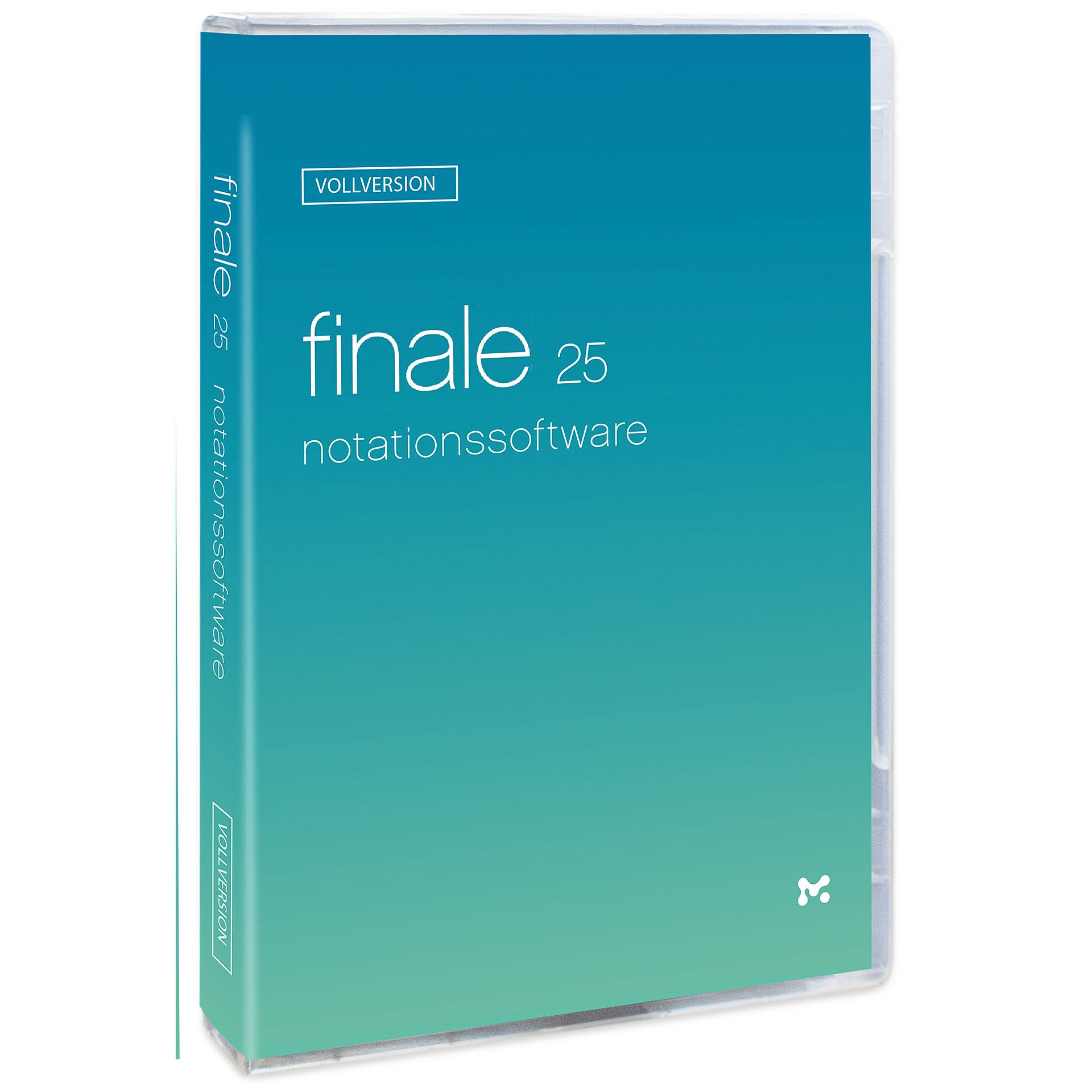 Notation MakeMusic Finale 25 D