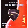 Struny do elektrycznej gitary basowej Dingwall Custom Bass Strings .045-.100