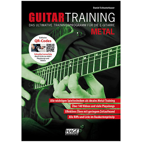 Lehrbuch Hage Guitar Training Metal