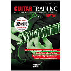 Hage Guitar Training Metal « Manuel pédagogique