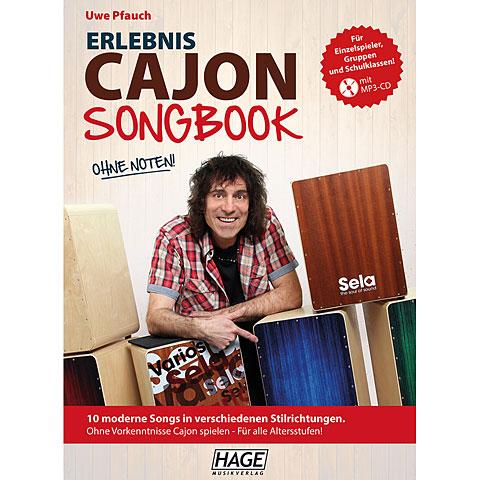 Hage Erlebnis Cajon Songbook