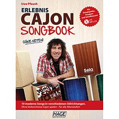 Hage Erlebnis Cajon Songbook « Lehrbuch