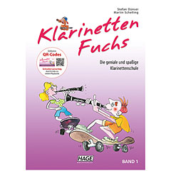 Hage Klarinetten-Fuchs Bd.1 « Instructional Book