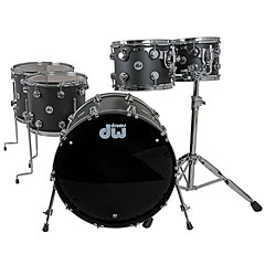 DW Collector´s Laquer Custom Cherry Solid Black « Batería