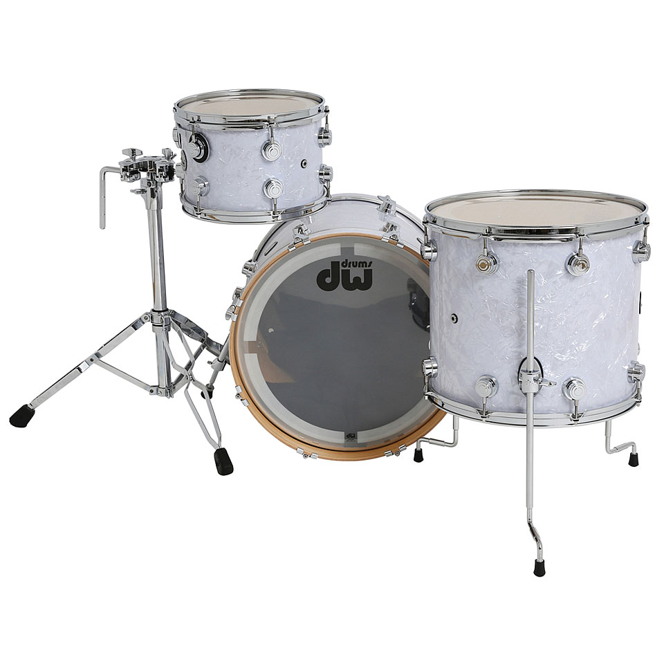 39197cd5d186 ... Drum Kit DW Collector´s Finish Ply Classic White Marine (3) ...