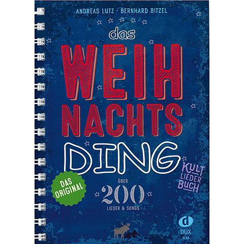 Recueil de morceaux Dux Das Weihnachts-Ding Kultliederbuch