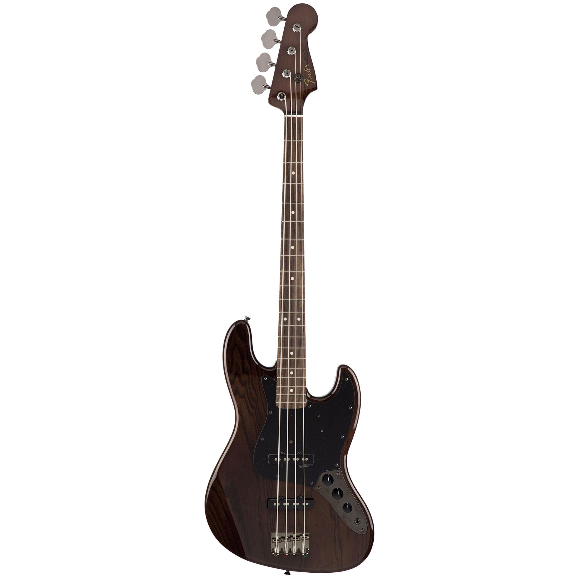 Fender classic 60s jazz bass walnut electric bass guitar for Classic house bass