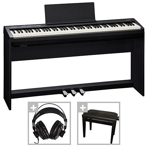 Piano de scène Roland FP-30-BK Deluxe Set