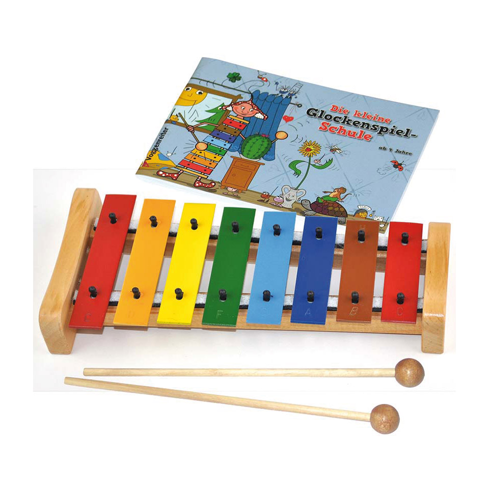 Orffscheinstrumente - Voggenreiter Das Bunte Glockenspiel Set Glockenspiel - Onlineshop Musik Produktiv