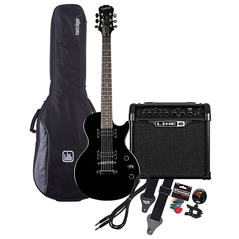 Epiphone LP Special EB / Line 6 Spider Classic 15 MP-Bundle