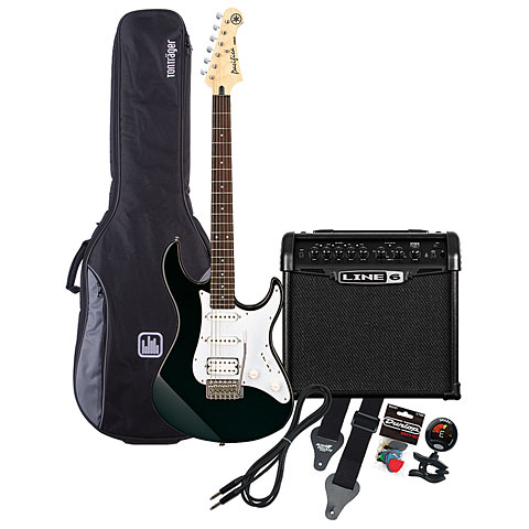 Yamaha Pacifica 112 BL / Line 6 Spider Classic 15 MP-Bundle
