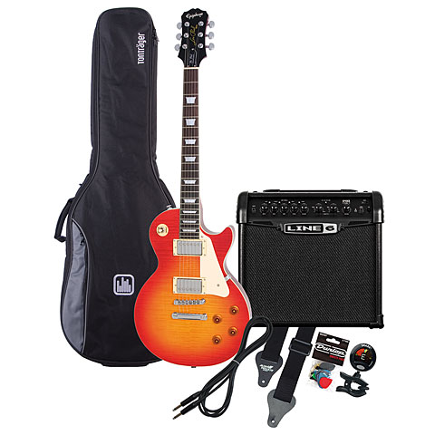 Epiphone LP Standard HS / Line 6 Spider Classic 15 MP-Bundle