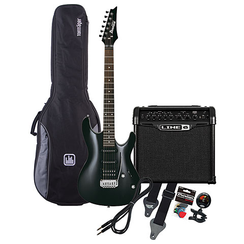 Ibanez GSA60-BKN / Line 6 Spider Classic 15 MP-Bundle