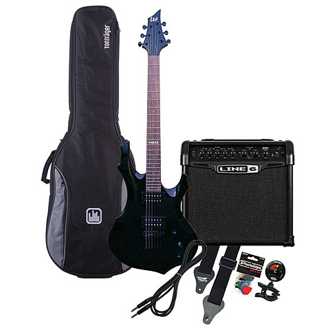 ESP LTD F-50 BK / Line 6 Spider Classic 15 MP-Bundle