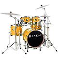 Schlagzeug Sakae Pac-D Compact Drumset Orange