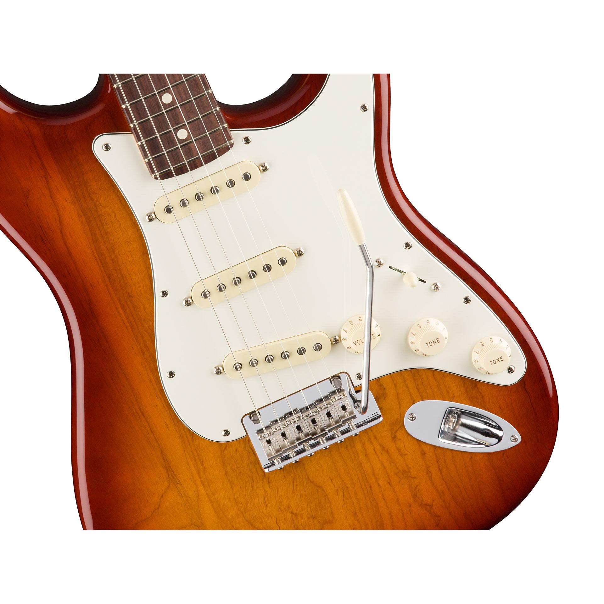 Fender American Pro Stratocaster RW SSB « E-Gitarre