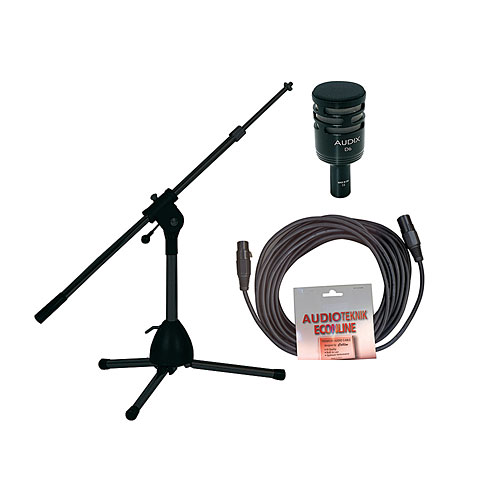 Audix D6/Stativ/Kabel-Set