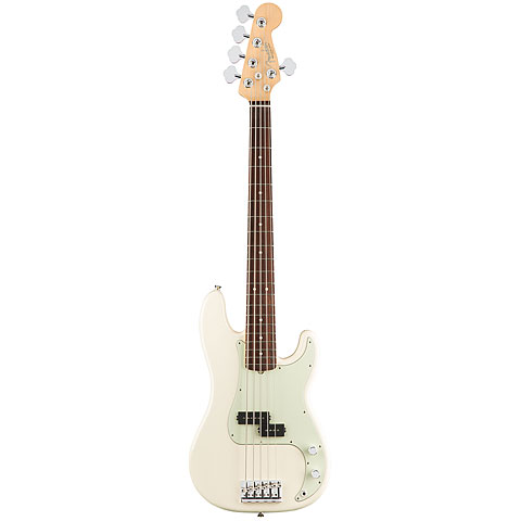 Fender American Pro P-Bass V RW OWT « Electric Bass Guitar