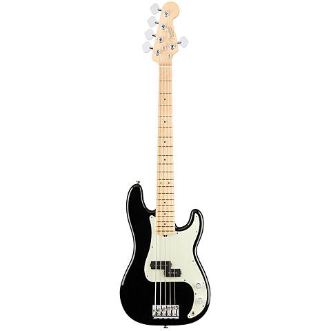 Fender American Pro P-Bass V MN BK « Basgitaar