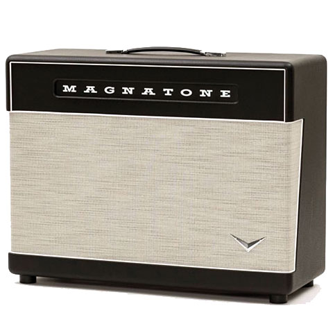 Pantalla guitarra eléctrica Magnatone Super 59 2x12 Lighted Extension Cabinet