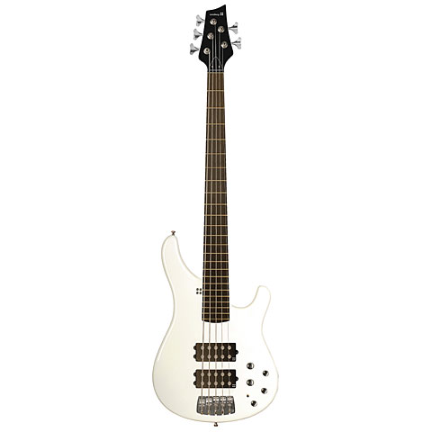 Sandberg Basic Ken Taylor 5-String Virgin White Gloss