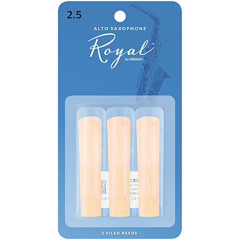 Cañas D'Addario Royal Altsax 2,5 3er Pack