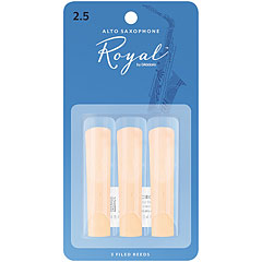 Rico Royal Altsax 2,5 3er Pack « Cañas