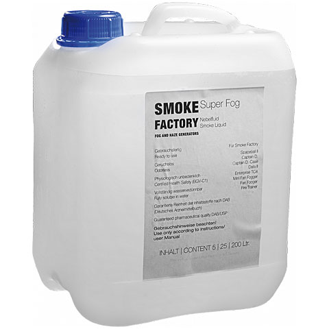 Smoke Factory Super Fog Fluid 25L
