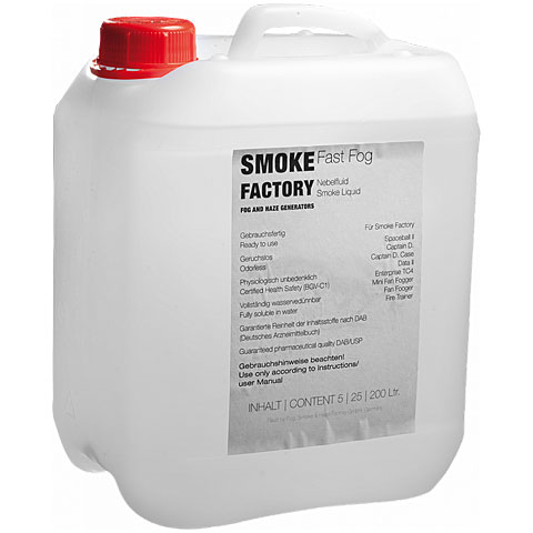 Smoke Factory Fast Fog Extra III Fluid 25L