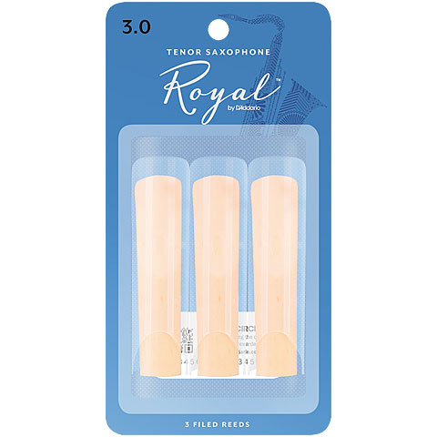 Rico Royal Tenorsax 3,0 3er Pack