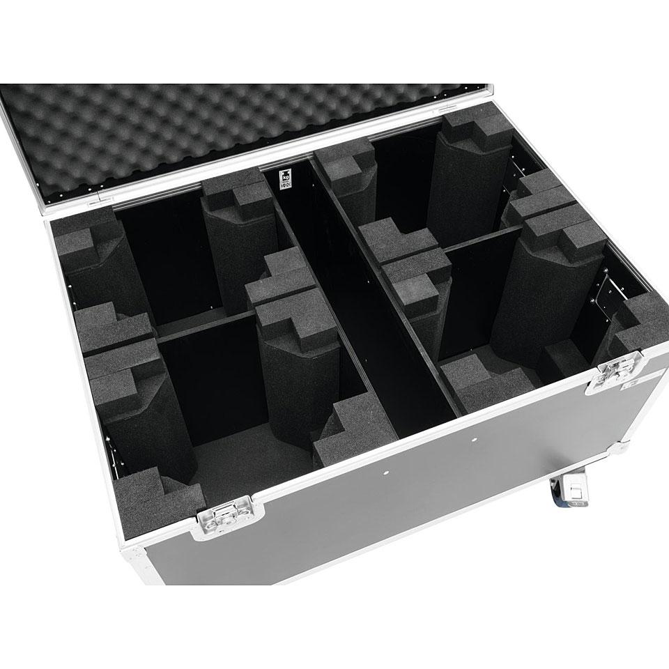 eurolite flightcase 4x tmh fe 1800 mit rollen light case. Black Bedroom Furniture Sets. Home Design Ideas