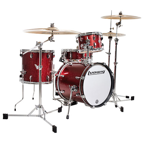Drum Kit Ludwig Breakbeats LC179X025 Red Sparkle