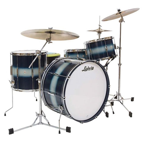 Ludwig Club Date USA 20  Blue Silver Duco