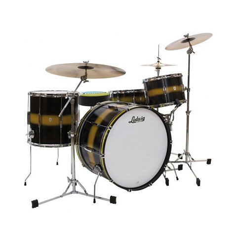 Ludwig Club Date USA 20  Black Gold Duco