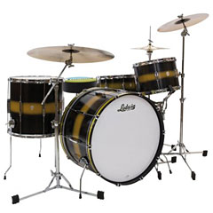 "Ludwig Club Date USA 20"" Black Gold Duco « Drum Kit"