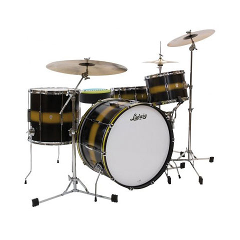 Ludwig Club Date USA 22  Black Gold Duco