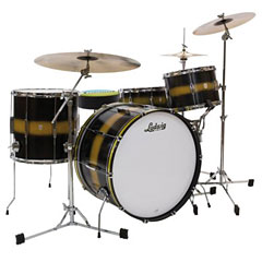 "Ludwig Club Date USA 22"" Black Gold Duco « Drum Kit"