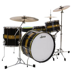 "Ludwig Club Date USA 24"" Black Gold Duco « Batterie acoustique"