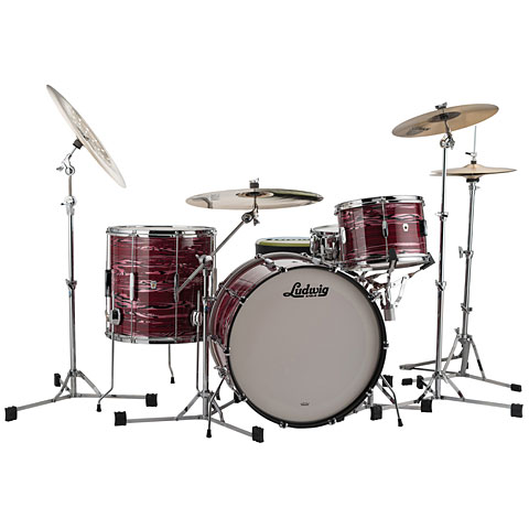 Ludwig Club Date USA 20  Ruby Strata
