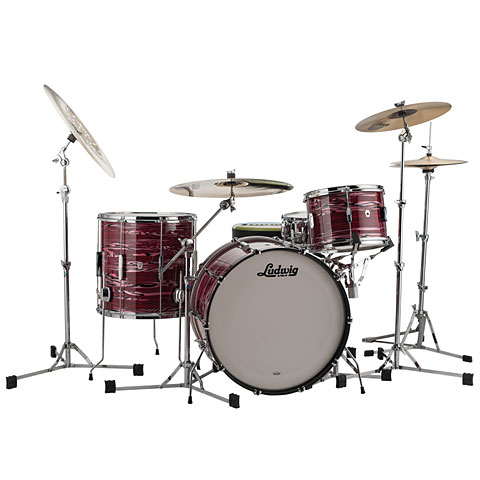 "Ludwig Club Date USA 22"" Ruby Strata"