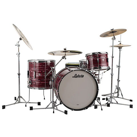 Ludwig Club Date USA 24  Ruby Strata
