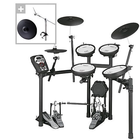 Roland TD-11KV V-Compact Series Crash Bundle