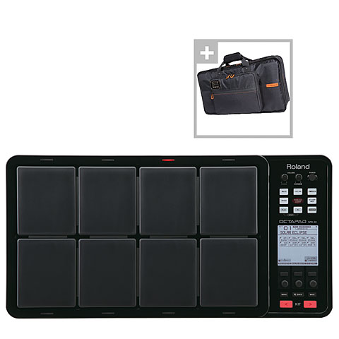 Roland SPD-30-BK Octapad Bag Bundle