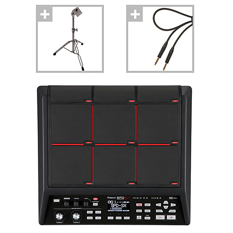 Percussion-Pad Roland SPD-SX Sampling Pad Stage Bundle