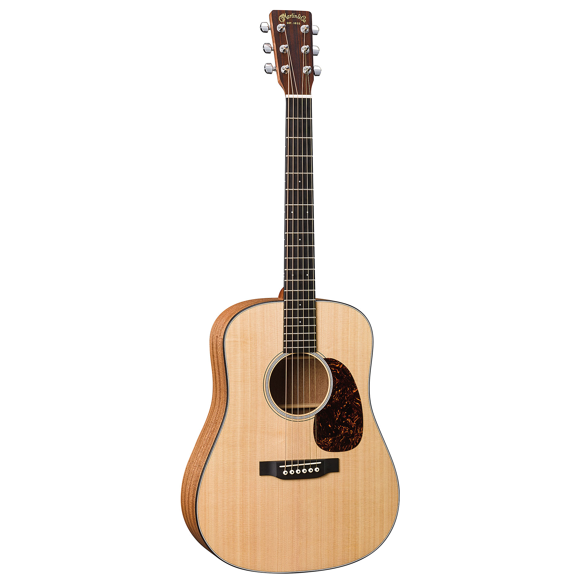 martin guitars djre dreadnought junior acoustic guitar