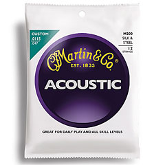 Martin Guitars M200/12 Silk & Steel « Western & Resonator Guitar Strings