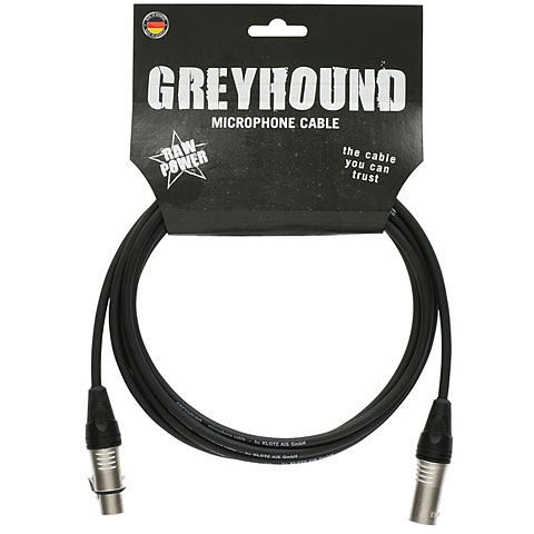 Mikrofonkabel Klotz Greyhound GRG1FM10.0