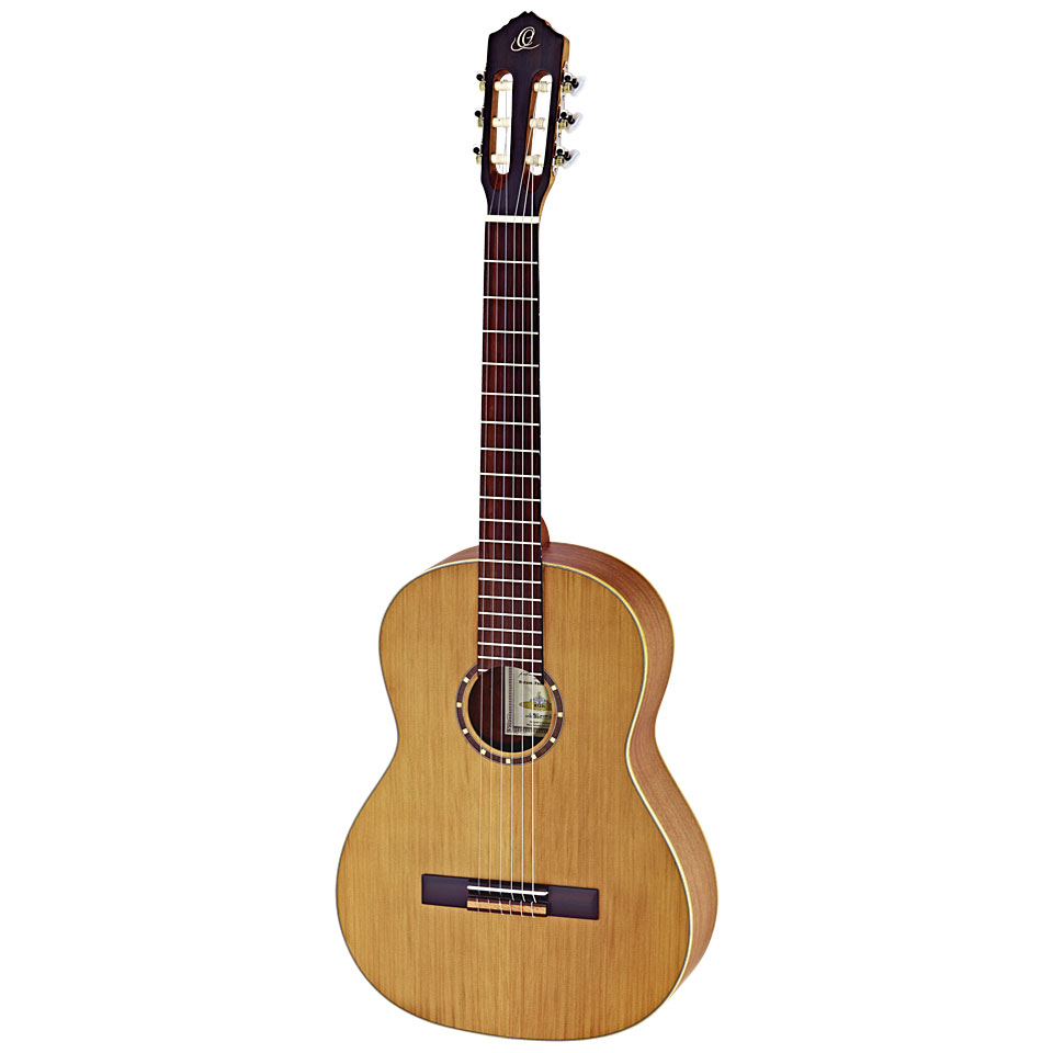 Konzertgitarren - Ortega R122L Konzertgitarre Lefthand - Onlineshop Musik Produktiv
