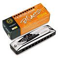 Richter-harmonica C.A. Seydel Söhne Blues Session Standard F