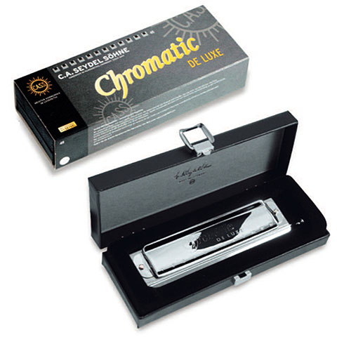 Harmonica chromatique C.A. Seydel Söhne Chromatic DeLuxe G